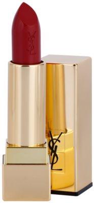 Yves Saint Laurent Rouge Pur Couture Satin Radiance червило  с хидратиращ ефект 1