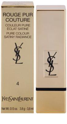 Yves Saint Laurent Rouge Pur Couture Satin Radiance червило  с хидратиращ ефект 3