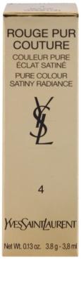 Yves Saint Laurent Rouge Pur Couture Satin Radiance червило  с хидратиращ ефект 4