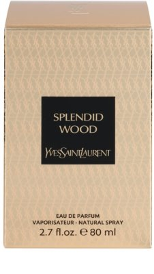 Yves Saint Laurent The Oriental Collection: Splendid Wood woda perfumowana unisex 4