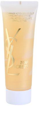 Yves Saint Laurent Top Secrets prírodný peeling bez granulí