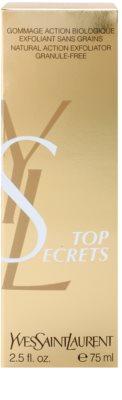 Yves Saint Laurent Top Secrets peeling natural, sem grânulos 3