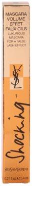 Yves Saint Laurent Mascara Volume Effet Faux Cils Shocking máscara de alongamento e para dar volume 3