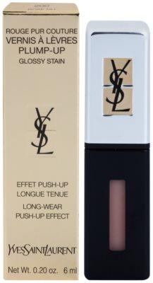 Yves Saint Laurent Rouge Pur Couture Vernis Á Levres Plump-Up brillo de labios de larga duración para labios voluminosos 2