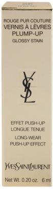 Yves Saint Laurent Rouge Pur Couture Vernis Á Levres Plump-Up brillo de labios de larga duración para labios voluminosos 3