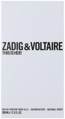 Zadig & Voltaire This Is Her! парфумована вода для жінок 1