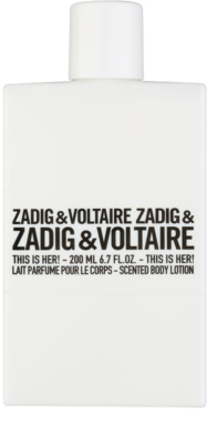 Zadig & Voltaire This Is Her! leite corporal para mulheres 2