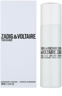 Zadig & Voltaire This Is Her! дезодорант-спрей для жінок