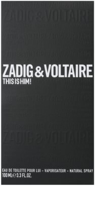 Zadig & Voltaire This Is Him! Eau de Toilette para homens 1