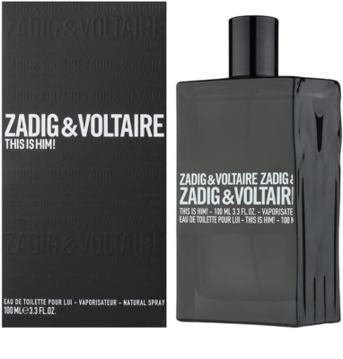Zadig & Voltaire This Is Him! eau de toilette férfiaknak