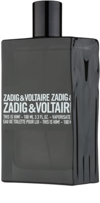 Zadig & Voltaire This Is Him! Eau de Toilette para homens 3