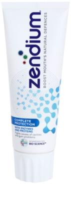 Zendium Complete Protection dentífrico para dentes e gengivas saudáveis
