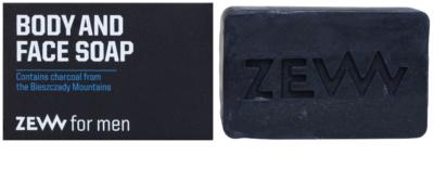 Zew For Men jabón natural en barra para cara y cuerpo