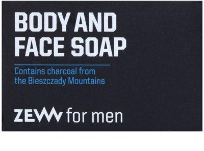Zew For Men přírodní tuhé mýdlo na tělo a obličej 2