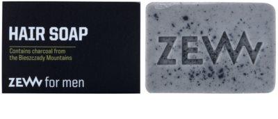 Zew For Men jabón natural en barra para cabello