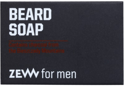 Zew For Men jabón natural en barra para barba 2
