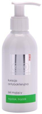 Ziaja Med Antibacterial Care gel de limpeza para pele oleosa e problemática
