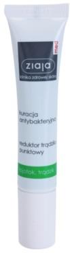 Ziaja Med Antibacterial Care lokale Pflege gegen Akne für Gesicht, Dekolleté und den Rücken