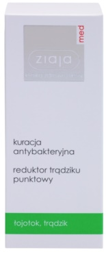 Ziaja Med Antibacterial Care tratament topic pentru acnee pe fata, decolteu si spate 2