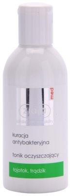 Ziaja Med Antibacterial Care tónico para pele oleosa e problemática