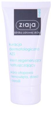 Ziaja Med Atopic Dermatitis Care crema calmanta cu efect de hidratare pentru piele atopica pentru copii si adulti