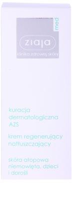 Ziaja Med Atopic Dermatitis Care crema calmanta cu efect de hidratare pentru piele atopica pentru copii si adulti 2