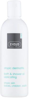 Ziaja Med Atopic Dermatitis Care sprchový a koupelový olej pro atopickou pokožku dětí a dospělých