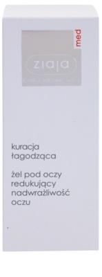 Ziaja Med Eye Care успокояващ гел за чувствителни очи 2