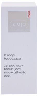 Ziaja Med Eye Care gel apaziguador para olhos sensíveis 2