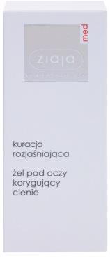 Ziaja Med Eye Care гель для шкіри навколо очей проти темних кіл 2
