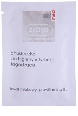 Ziaja Med Intimate Hygiene obrúsok pre intímnu hygienu s upokojujúcim účinkom