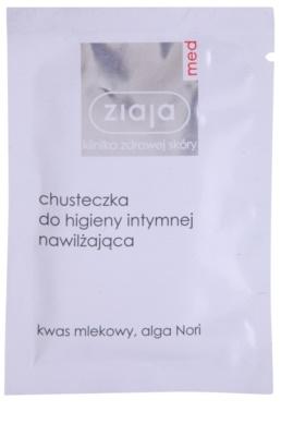 Ziaja Med Intimate Hygiene intim higiéniás kendő hidratáló hatással