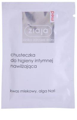 Ziaja Med Intimate Hygiene toalhitas para higiene íntima com efeito hidratante