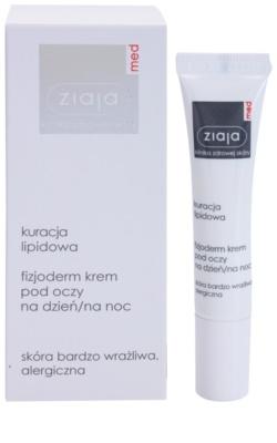 Ziaja Med Lipid Care fyziologický krém na oční okolí pro velmi citlivou a alergickou pleť 1