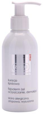 Ziaja Med Lipid Care physiologisches Reinigungsgel für neurodermitische und allergiegeplagte Haut