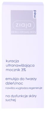 Ziaja Med Ultra-Moisturizing with Urea regenerierende und hydratisierende Creme mit glättender Wirkung 2