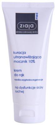 Ziaja Med Ultra-Moisturizing with Urea creme intensivo regenerador  para mãos