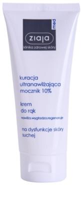 Ziaja Med Ultra-Moisturizing with Urea intenzivna regeneracijska krema za roke