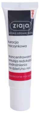 Ziaja Med Capillary Care konzentrierte Lokalpflege mit beruhigender Wirkung für empfindliche Haut mit Neigung zu Rötungen