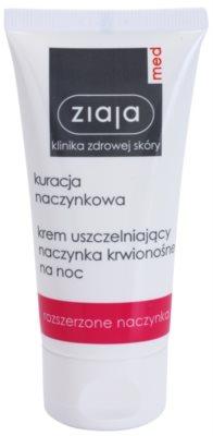 Ziaja Med Capillary Care creme de noite para prevenir a fissuração e restaurar a formação de novos cabelos