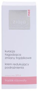 Ziaja Med Rosacea Care krem łagodzący na dzień przeciw zaczerwienieniom SPF 6 2