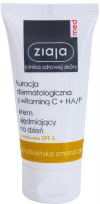 Ziaja Med Vitamin C & Hyaluronic Acid posvetlitvena krema proti gubam SPF 6