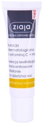 Ziaja Med Vitamin C & Hyaluronic Acid revitalizační sérum pro unavenou pleť