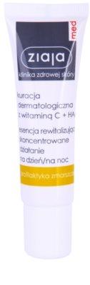 Ziaja Med Vitamin C & Hyaluronic Acid ser revitalizant pentru ten obosit