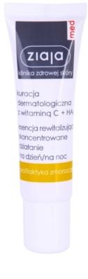 Ziaja Med Vitamin C & Hyaluronic Acid sérum revitalizante para pele cansada