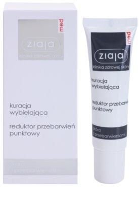 Ziaja Med Whitening Care cuidado local iluminador anti-manchas de pigmentação 1