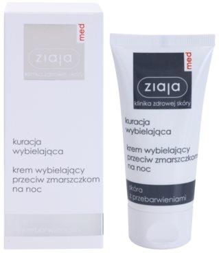 Ziaja Med Whitening Care Nachtcreme gegen Falten Für hyperpigmentierte Haut 1