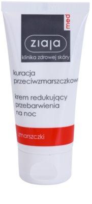 Ziaja Med Anti-Wrinkle Care aufhellende Nachtcreme mit Antifalten-Effekt