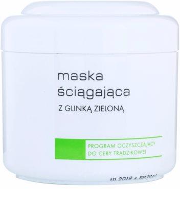 Ziaja Pro Cleansers Acne Skin máscara adstringente com argila verde
