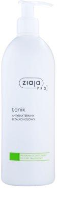Ziaja Pro Cleansers Acne Skin antibakteriális tonik alkoholmentes